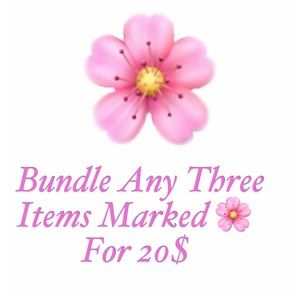 3 ITEMS FOR 20